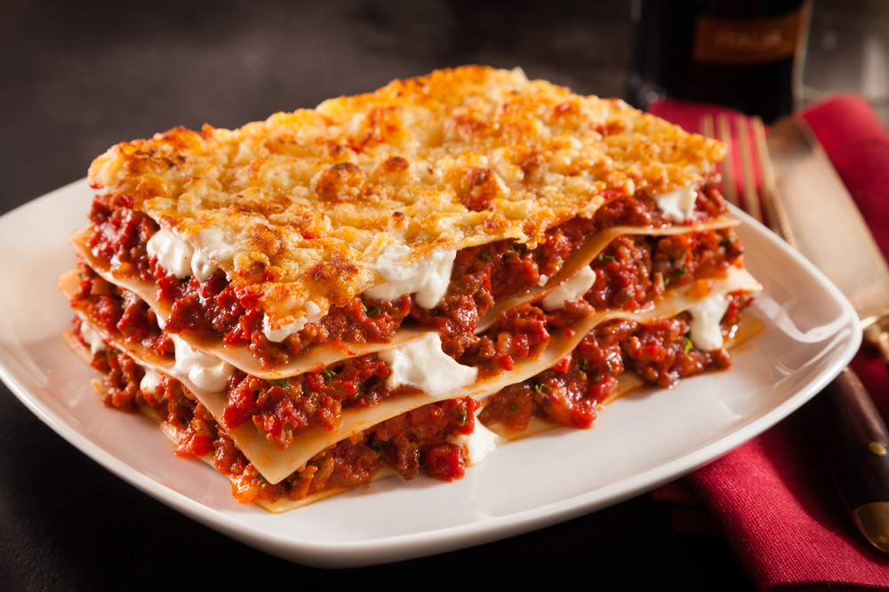 The secret to successful and beautiful lasagnes