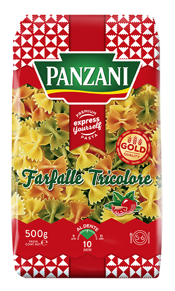pack-Farfalle Tricolore